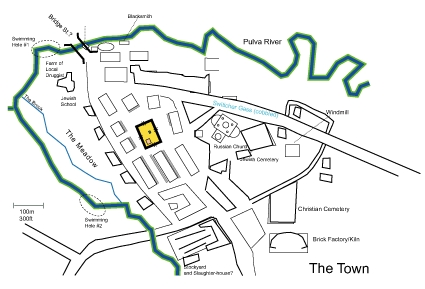 Simple Town Map